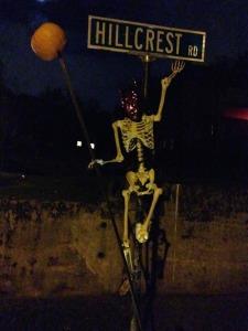 halloween hillcrest road