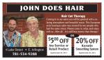 John does hair